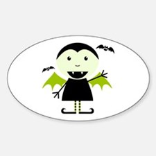 Little Vampire Oval Decal