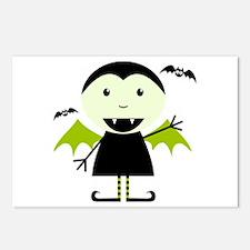 Little Vampire Postcards (Package of 8)