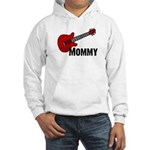 Guitar - Mommy Hooded Sweatshirt
