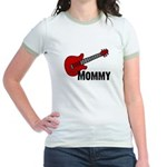 Guitar - Mommy Jr. Ringer T-Shirt