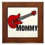 Guitar - Mommy Framed Tile