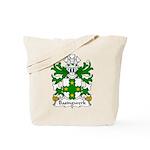 Basingwerk Family Crest Tote Bag