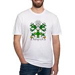 Basingwerk Family Crest Fitted T-Shirt