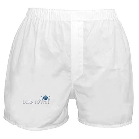 Born to KNIT Boxer Shorts