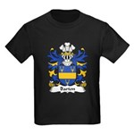 Barton Family Crest Kids Dark T-Shirt