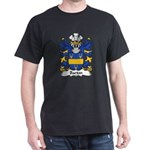 Barton Family Crest Dark T-Shirt