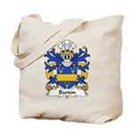 Barton Family Crest Tote Bag