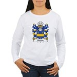 Barton Family Crest Women's Long Sleeve T-Shirt