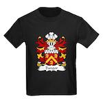Bangor Family Crest Kids Dark T-Shirt