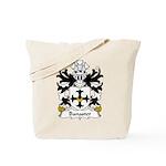 Banaster Family Crest Tote Bag