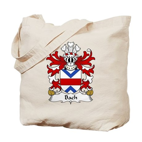 Bach Family Crest Tote Bag
