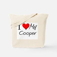 I Heart My Cooper Tote Bag