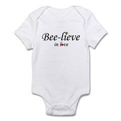 BEE-LIEVE IN LOVE Infant Bodysuit