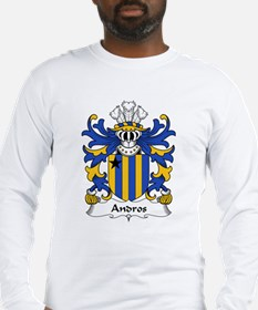 Andros Family Crest Long Sleeve T-Shirt