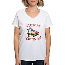 I Suck AT Skiing Shirt