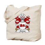 Aeneas Family Crest Tote Bag
