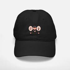 Peace Love Medicine Caduceus Baseball Hat