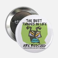 """Rescued 2.25"""" Button (10 pack)"""