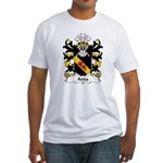 Adda Family Crest Fitted T-Shirt