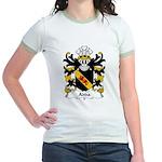 Adda Family Crest Jr. Ringer T-Shirt