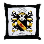 Adda Family Crest Throw Pillow