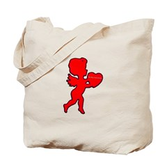Cupid Be My Valentine Tote Bag