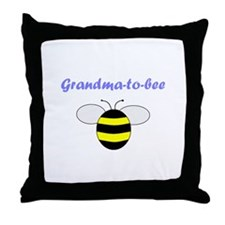 GRANDMA-TO-BEE Throw Pillow