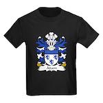 Adam Family Crest  Kids Dark T-Shirt