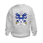 Adam Family Crest  Kids Sweatshirt