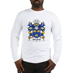 Abrahall Family Crest Long Sleeve T-Shirt