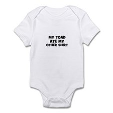 My TOAD Ate My Other Shirt Infant Bodysuit