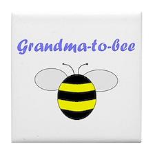 GRANDMA-TO-BEE Tile Coaster