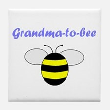 GRANDMA-TO-BEE Tile Coaster