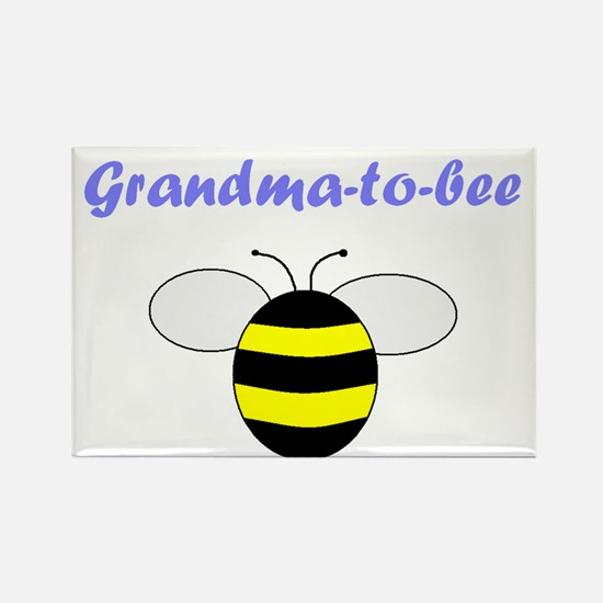 GRANDMA-TO-BEE Rectangle Magnet