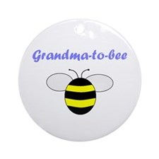 GRANDMA-TO-BEE Ornament (Round)