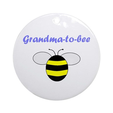 GRANDMA-TO-BEE Ornament (Round)
