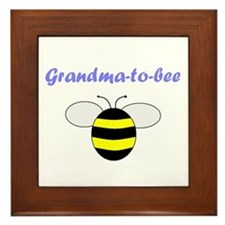GRANDMA-TO-BEE Framed Tile