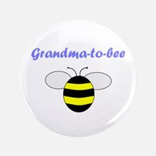 "GRANDMA-TO-BEE 3.5"" Button"