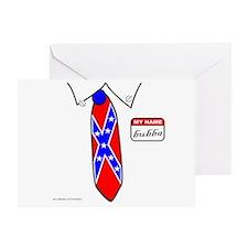 REDNECK NECKTIE Greeting Card