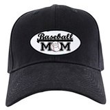 Baseball mom Black Hat