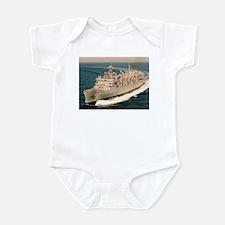 USS Arctic Ship's Image Infant Bodysuit