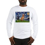 Starry Night / Vizsla Long Sleeve T-Shirt
