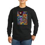 Astroids Long Sleeve Dark T-Shirt