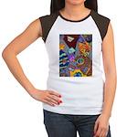 Astroids Women's Cap Sleeve T-Shirt