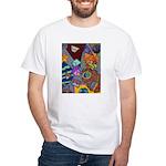 Astroids White T-Shirt