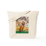 Spring / Vizsla Tote Bag
