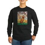 Spring / Vizsla Long Sleeve Dark T-Shirt