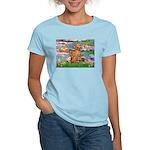 Lilies / Vizsla Women's Light T-Shirt