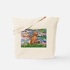 Lilies / Vizsla Tote Bag