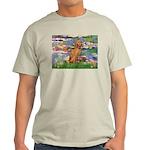 Lilies / Vizsla Light T-Shirt